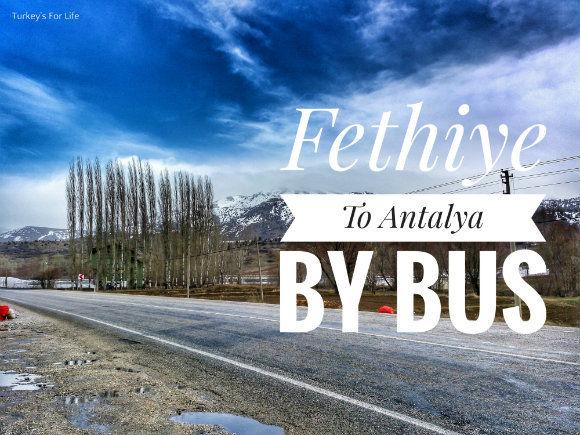 Fethiye To Antalya By Bus