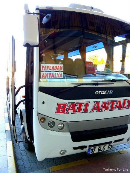 Fethiye Antalya Bus