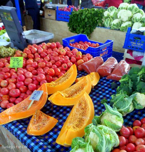 Pumpkin At Fethiye Market