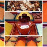 Turkish Food: An Artistic Antalya Spice Stall