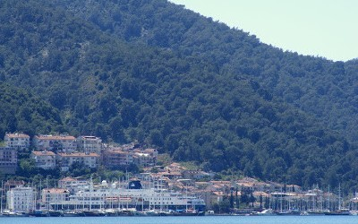 Beautiful Fethiye Weather & A Rare Cruise Ship