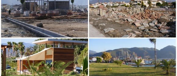 Fethiye Harbour 2008 to 2011