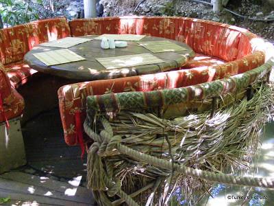 Stork's Nest Seating Area