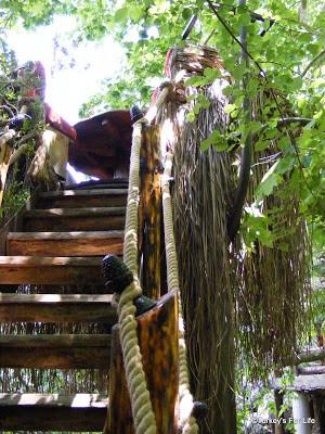 Stork's Nest at Akkaya Garden Restaurant, Dalaman