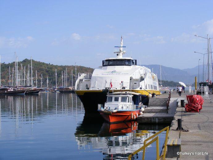 Fethiye To Rhodes Catamaran