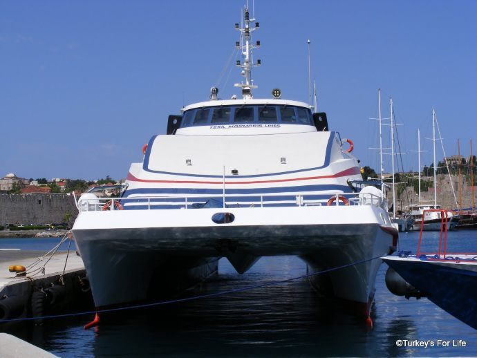 Marmaris To Rhodes Catamaran