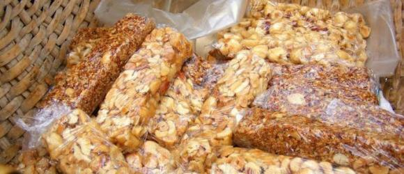 Turkish Honey Nut Bars