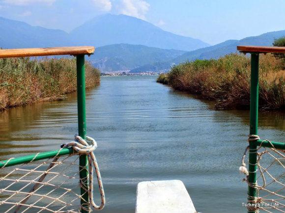 The Çalış To Fethiye Dolmuş Boat