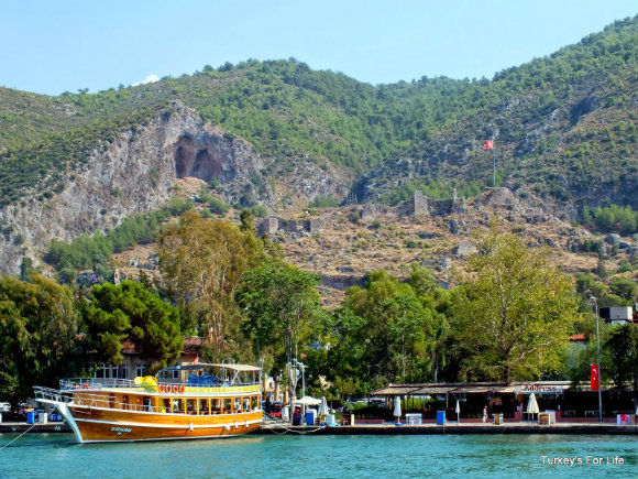 Çalış Water Taxi Pulling Into Fethiye Harbour