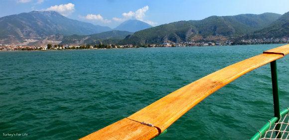 Viewing Fethiye From The Çalış Dolmuş Boat