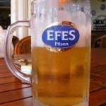 Turkish Beer: Efes Pilsen