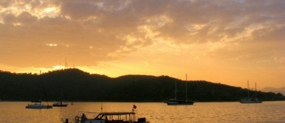 The Fethiye To Çalış Water Taxi – There & Back Again