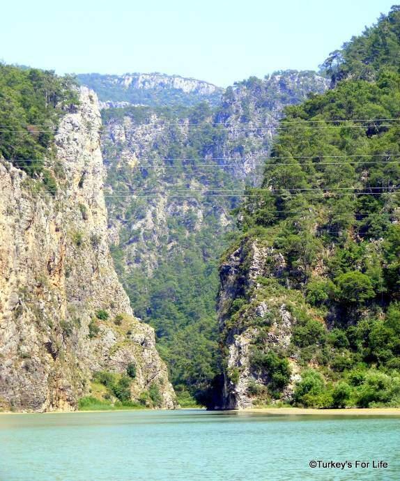 Dalaman River Secret Valley Boat Trip
