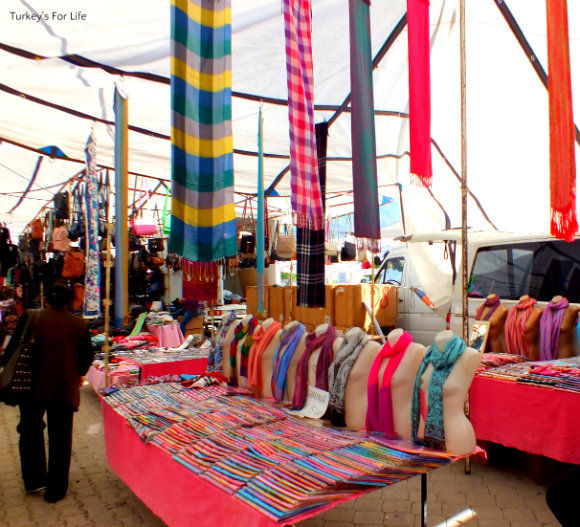 Fethiye Market Pashminas