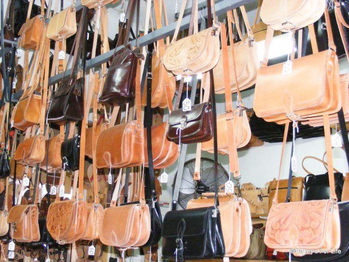 Handmade Rhodes Leather Handbags
