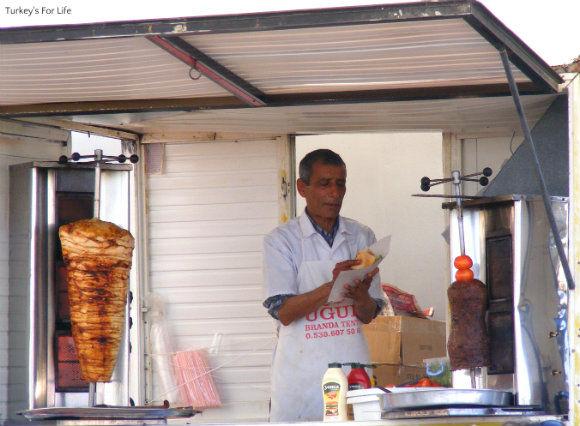 Kebabs At Fethiye Market