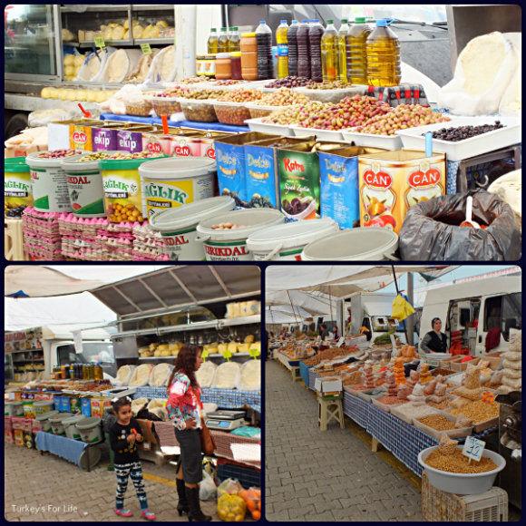 Dairy At Tuesday Market, Fethiye