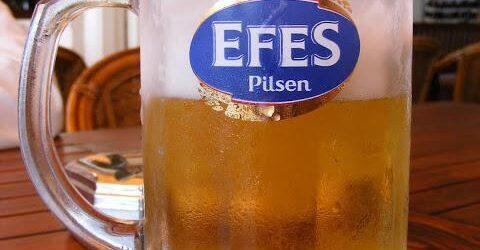 Turkish Efes Pilsen