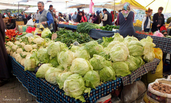 Winter Food At Tuesday Fethiye Market
