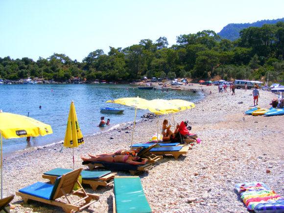 Gemiler Bay Fethiye Turkey