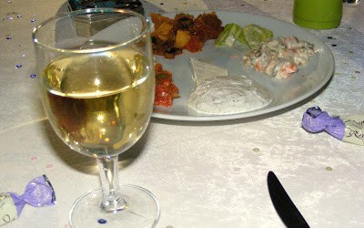 Meze And Wine At A Turkish Wedding