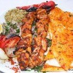 Turkish Food: Chicken Shish Kebab