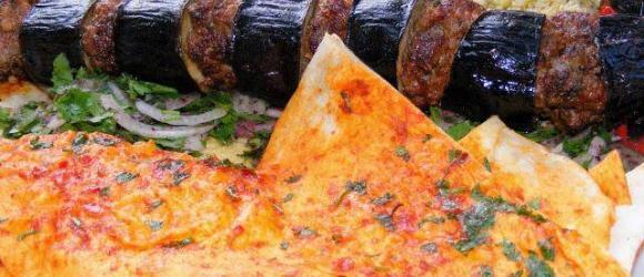 Turkish Aubergine Kebab