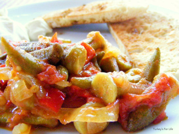 The Deal with the Okra | Cooking recipes, Turkish recipes ... |Turkish Food With Okra