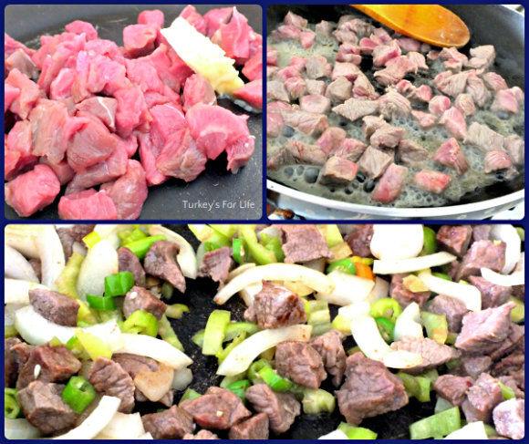 Turkish Sauteed Beef Recipe