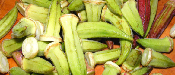 Seasonal Food In Turkey - Okra