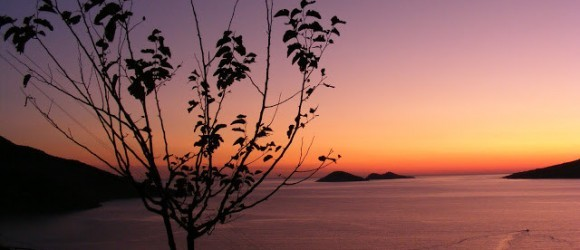 Kalkan Sunset From The D400