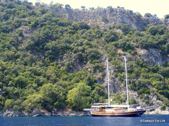 Fethiye Blue Bays Boat Trip