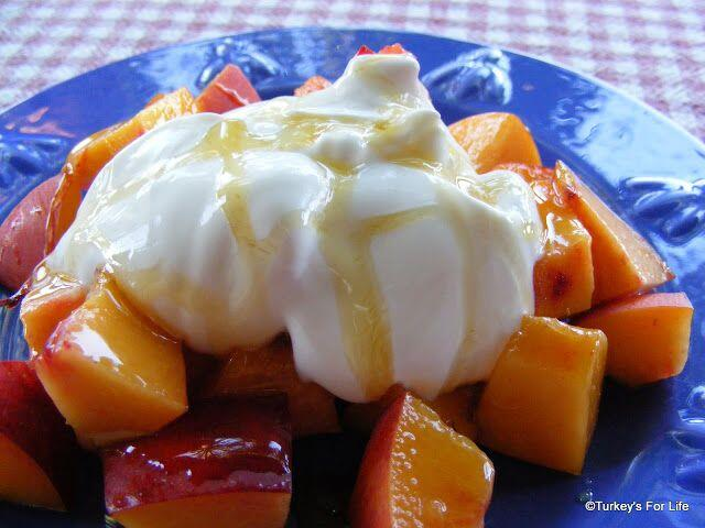 Nectarine And Yoghurt