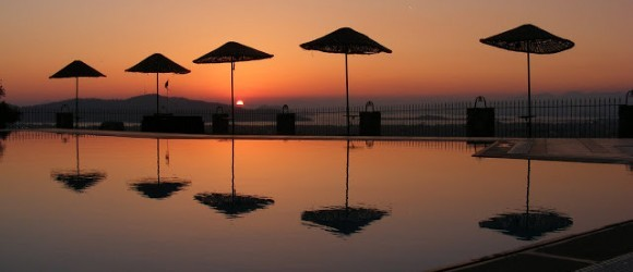 Fethiye Sunset From The Sundial