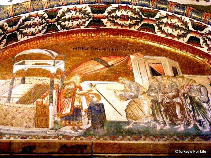 Chora Museum Mosaic