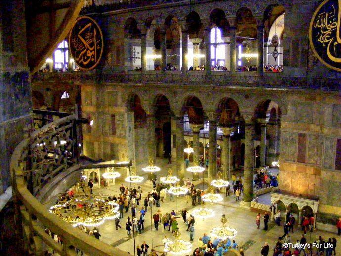 Hagia Sophia Gallery, Istanbul