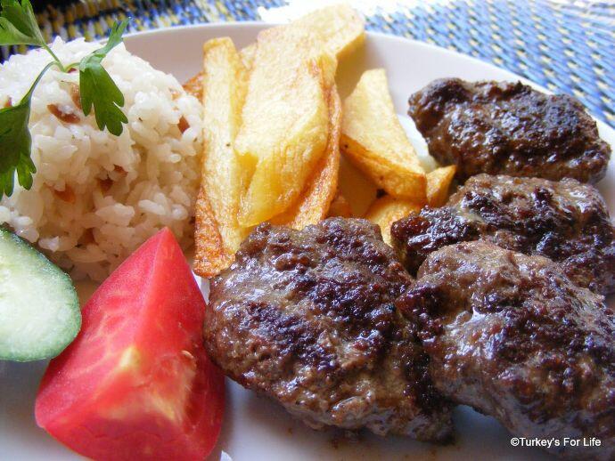 Kayip Cennet Restaurant, Köfte