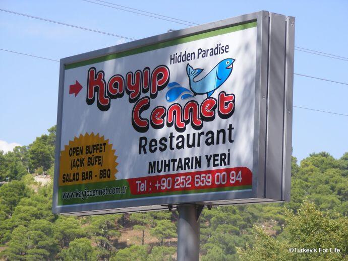 Kayıp Cennet Restaurant, Saklıkent