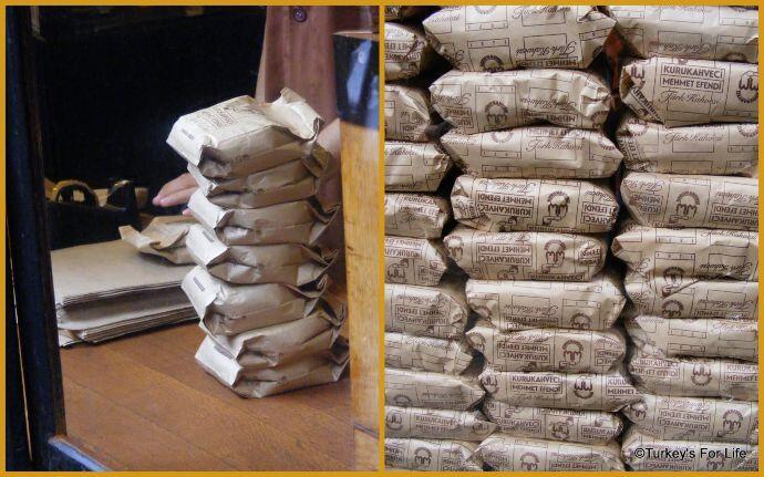Turkish Coffee Packs Mehmet Efendi