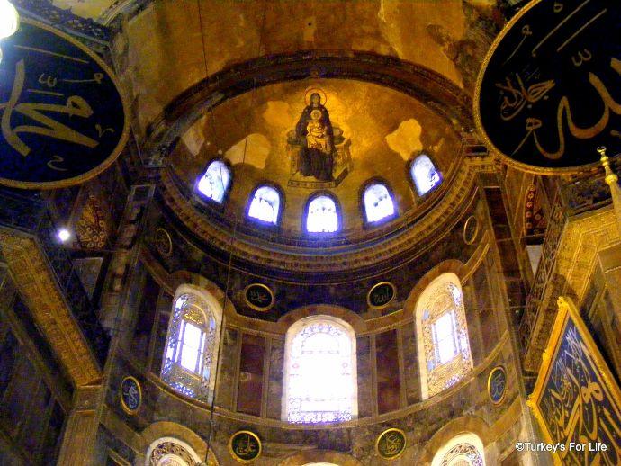Virgin And Child, Hagia Sophia, Istanbul