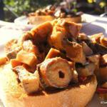 Garlic Mushrooms On Toast