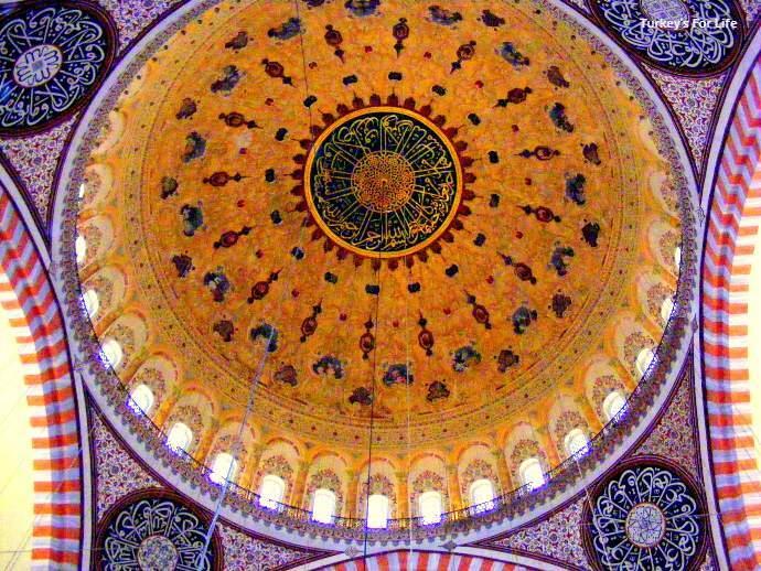 Decoration In Suleymaniye Mosque, Istanbul