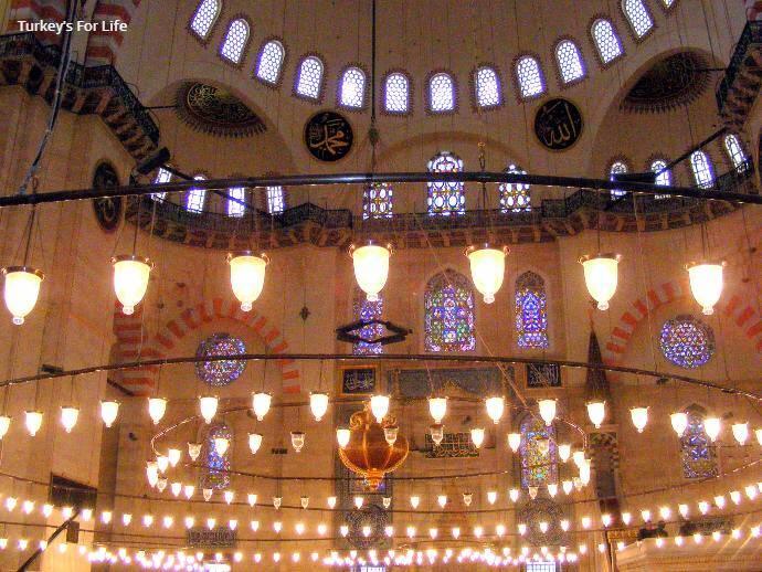 Süleymaniye Mosque Lighting