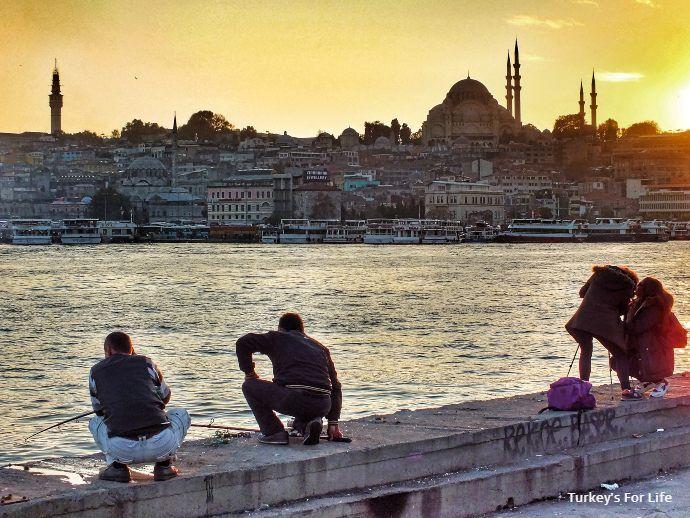 Süleymaniye Mosque Sunset