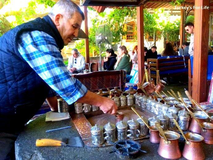 Türk Kahvesi In Sand