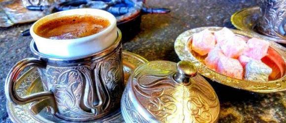 Turkish Coffee In Sand