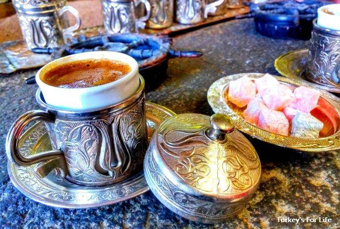 Turkish Coffee In Sand