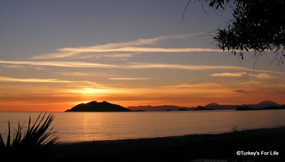 Koca Calis Sunset In Fethiye, Turkey