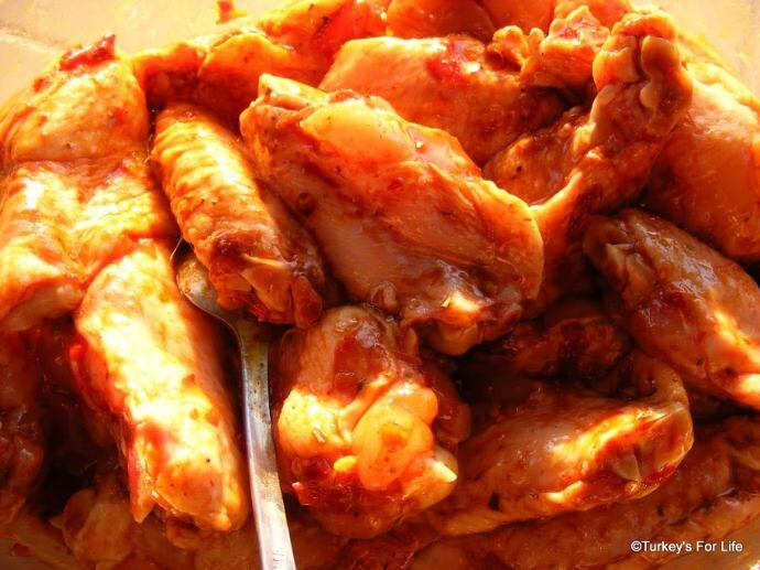 Turkish Chicken Wings, Kanat