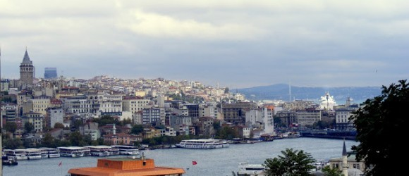 View Of Istanbul From Beyazit